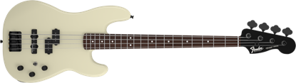 Fender Duff McKagan Precision Bass Guitar RW, Pearl White