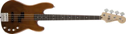 Fender Deluxe Active Precision Bass Guitar Special RW, Natural Okoume