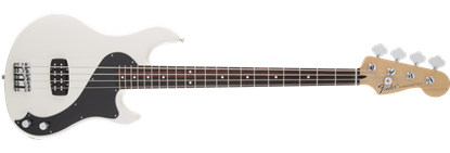 Fender Standard Dimension Bass Guitar IV RW, Olympic White