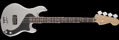 Fender Standard Dimension Bass Guitar IV RW, Ghost Silver