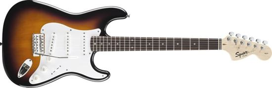 Squier Affinity Stratocaster Electric Guitar Rosewood Neck Brown Sunburst