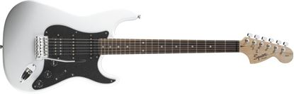 Squier Affinity Fat Stratocaster HSS Electric Guitar Rosewood Neck Olympic White