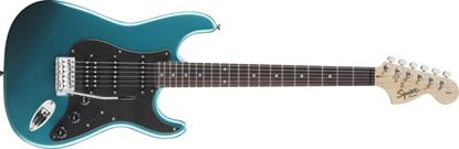 Squier Affinity Fat Stratocaster HSS Electric Guitar Rosewood Neck Lake Placid Blue