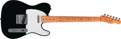 Fender '50s Classic Telecaster Maple Neck Black Ash