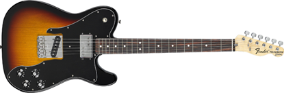 Fender '72 Classic Telecaster Custom Rosewood Neck 3-Colour Sunburst