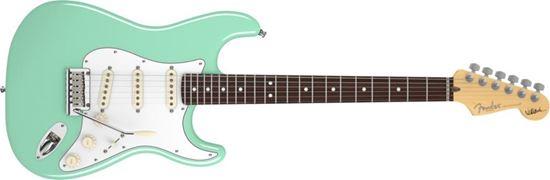 Fender Jeff Beck Signature Stratocaster Electric Guitar - Rosewood Fretboard - Surf Green