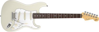 Picture of Fender Jeff Beck Stratocaster Olympic White