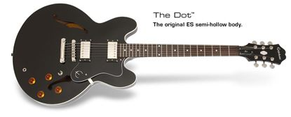 Epiphone Dot Electric Guitar (Ebony)