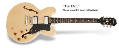 Epiphone Dot Electric Guitar (Natural)