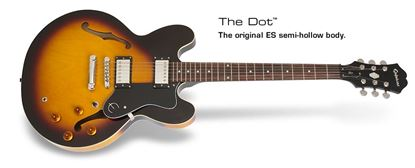 Epiphone Dot Electric Guitar (Vintage Sunburst)