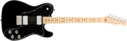Fender American Professional Telecaster Deluxe Shawbucker, MN, Black