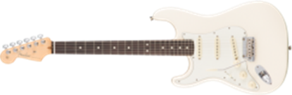 Fender American Professional Stratocaster Left-Hand, RW, Olympic White
