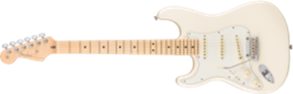 Fender American Professional Stratocaster Left-Hand, MN, Olympic White