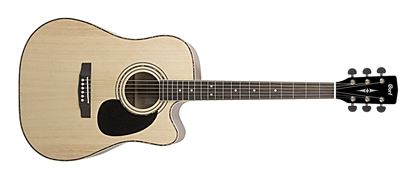 Cort Standard Series AD880C Dreadnought Acoustic Guitar with Pickup - Natural