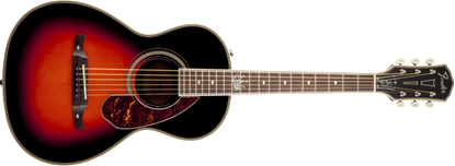 Fender Ron Emory Loyalty Parlor Acoustic Guitar - Sunburst
