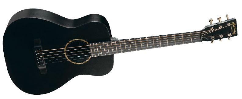 martin lxblack little martin acoustic guitar black perth mega music online. Black Bedroom Furniture Sets. Home Design Ideas