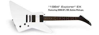 Epiphone Explorer 1984 Electric Guitar EX (Alpine White)