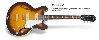 Epiphone Casino Electric Guitar (Vintage Sunburst)