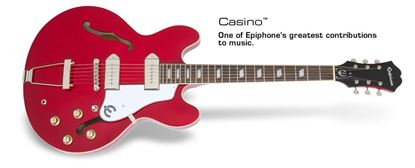 Epiphone Casino Electric Guitar (Cherry)