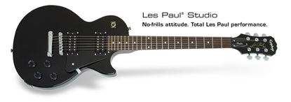 Epiphone Les Paul Studio Electric Guitar (Ebony)