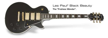 Epiphone Les Paul Black Beauty Electric Guitar (Ebony)