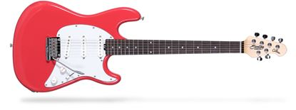 Ernie Ball Music Man CT50 Sterling Cutlass Electric Guitar RW, Fiesta Red