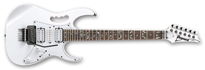 Picture of Ibanez JEMJR White Steve Vai Signature Model Electric Guitar