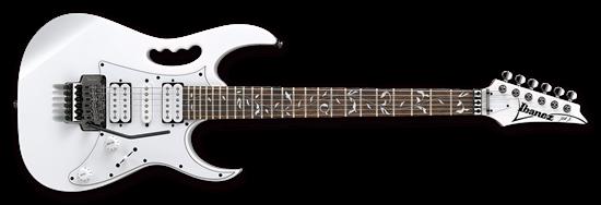 Ibanez JEMJR Steve Vai Signature Model Electric Guitar White