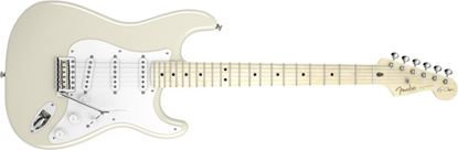 Fender Eric Clapton Signature Stratocaster Electric Guitar - Maple Neck - Olympic White