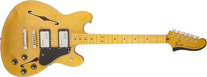 Picture of Fender Starcaster Guitar Maple Neck Natural