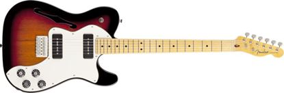 Picture of Fender Modern Player Telecaster Thinline Deluxe 3-Colour Sunburst