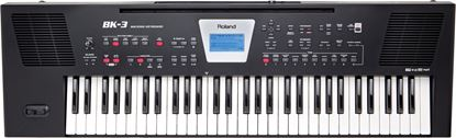 Picture of Roland BK-3 Backing Keyboard, Black (BK3)