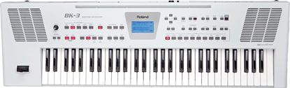 Picture of Roland BK-3 Backing Keyboard, White (BK3)