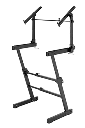 Picture of Hercules KS410B Keyboard Stand (Dual Tier, Z-Style)