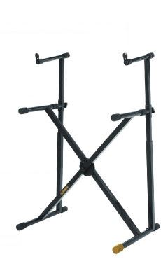 hercules ks210b keyboard stand dual tier double braced perth mega music online. Black Bedroom Furniture Sets. Home Design Ideas
