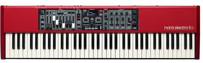 Picture of Nord Electro 5D Keyboard (73-Key Semi-Weighted w Drawbars)