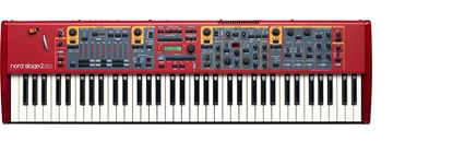 Nord Stage 2 EX Compact Keyboard (73-Key Synth Weighted)