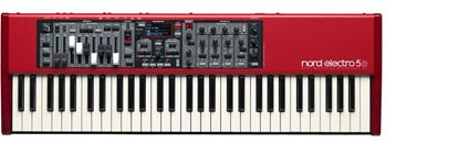 Nord Electro 5D Keyboard (61-Key Semi-Weighted w Drawbars)