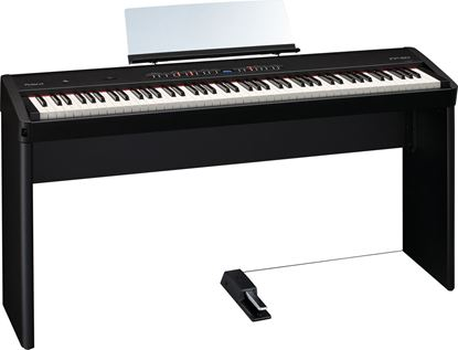 Roland FP-50 Digital Piano, Black with Stand (FP50)