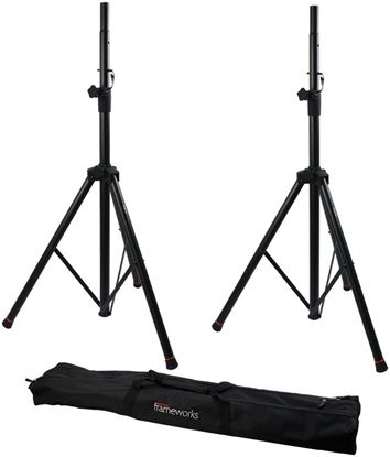 Picture of Gator GFW-SPK-2000 Speaker Stands (w Carry Bag)