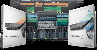 PreSonus Studio One V3 Professional: (Box + License + USB Key)