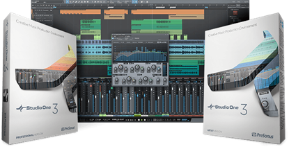 PreSonus Studio One V3 Artist DAW Software