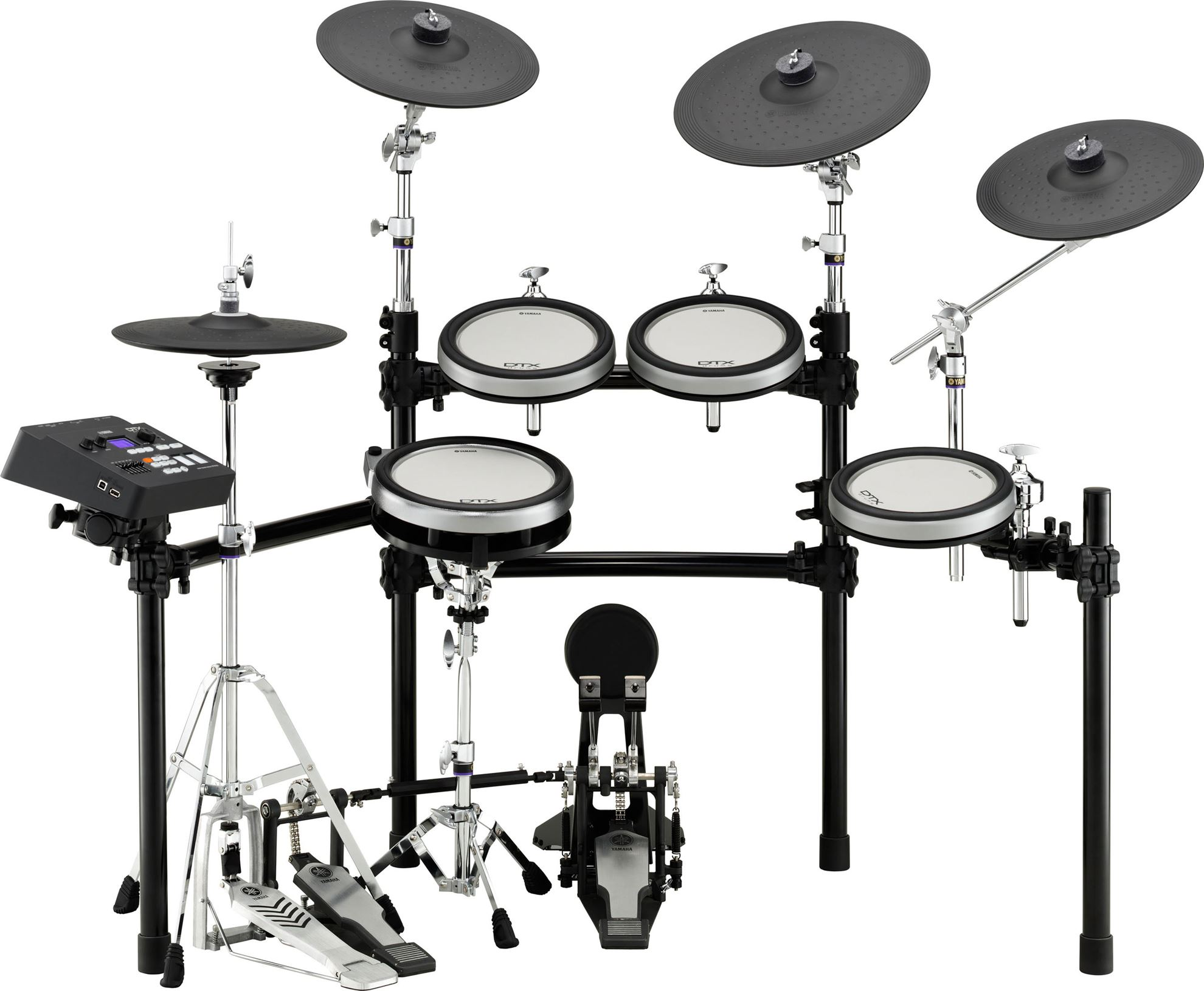 Yamaha Dtx750k Electronic Drum Kit With Hi Hat Control Perth