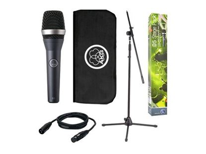 AKG D5 Professional Vocal Microphone Stage Pack