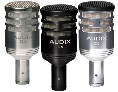 Audix D6 Professional Dynamic Low Frequency Instrument Microphone