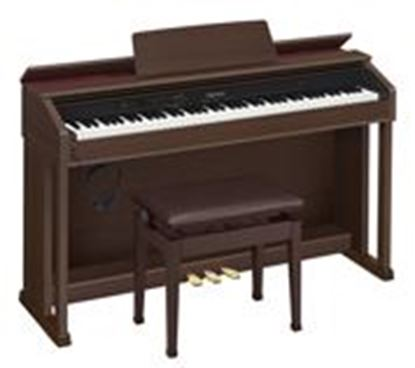Casio AP-460 Celviano Digital Piano, Brown with Seat (AP460)