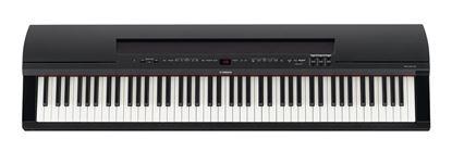 Yamaha P-255 Portable Digital Piano Black Top View
