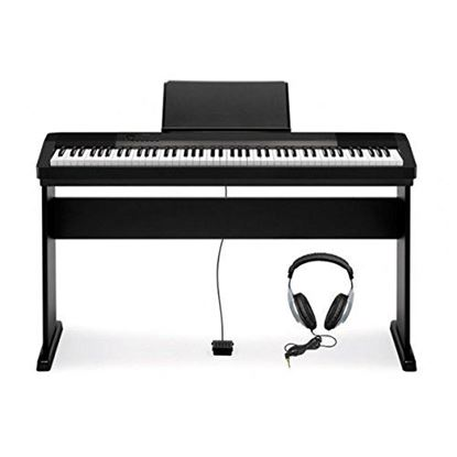 Picture of Casio CDP-130 Digital Piano (Black with Stand)
