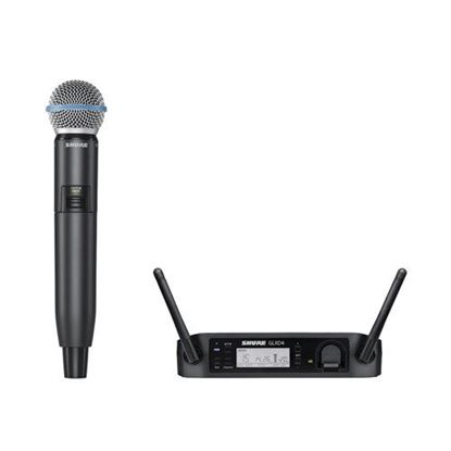 Shure GLXD24/BETA58 Wireless Digital Handheld System: 2.4GHz