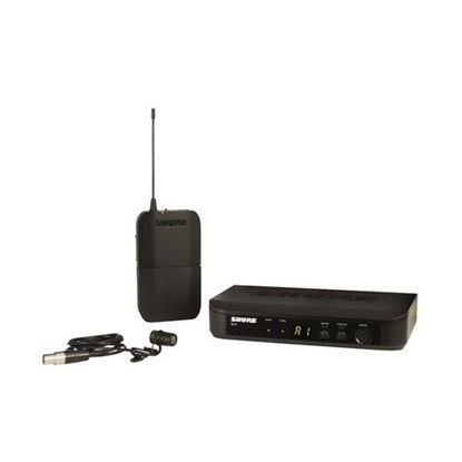 Shure BLX14/W85 Wireless Lavalier Mic System (K14: 614-638MHz)